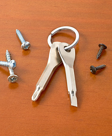 2-Pc. Screwdriver Keys