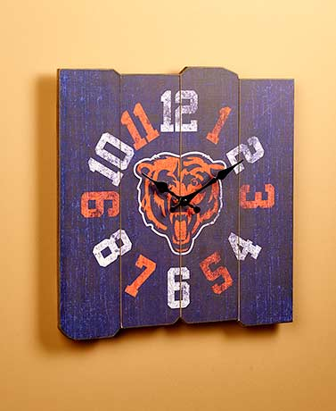 Oversized Vintage NFL Wall Clocks