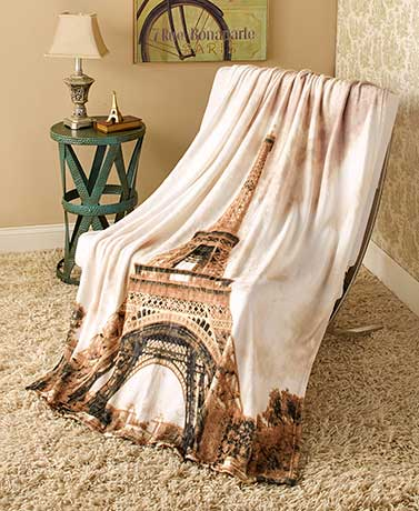 Around the World Plush Throws