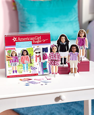 American Girl™ Paper Doll Fashion Set