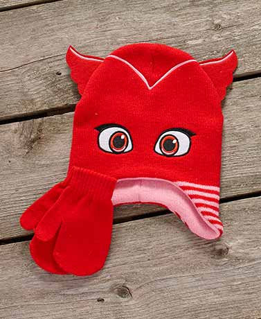 Favorite Character Toddler Hat & Mitten Sets