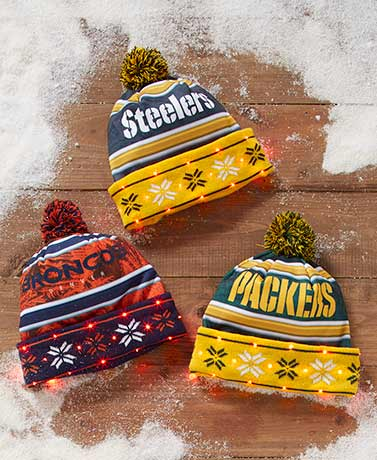 NFL Light-Up Hats