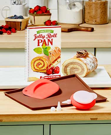 Jelly Roll Pan Set or Cookbook