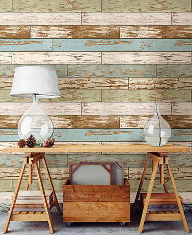 NuWallpaper™ Peel and Stick Wallpaper - Vintage Wood