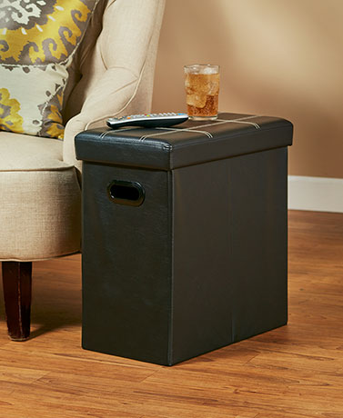 Collapsible Storage Side Tables