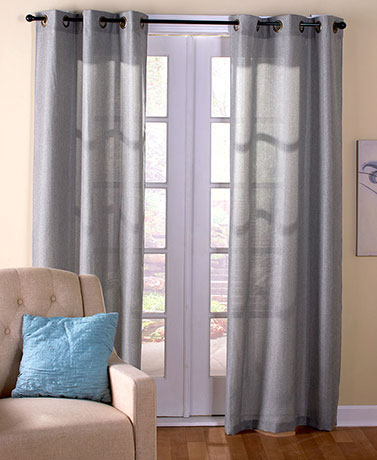 Grommet Top Privacy Curtain Sets