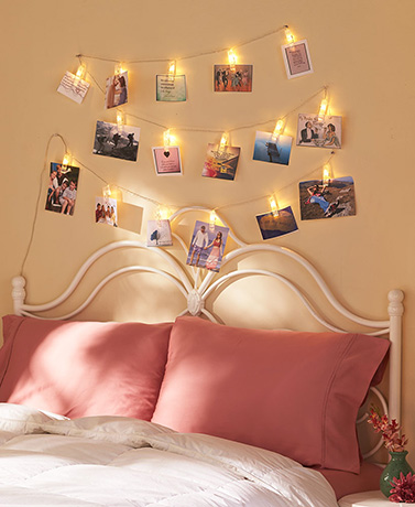 15-Ft. LED Photo Clip String Lights