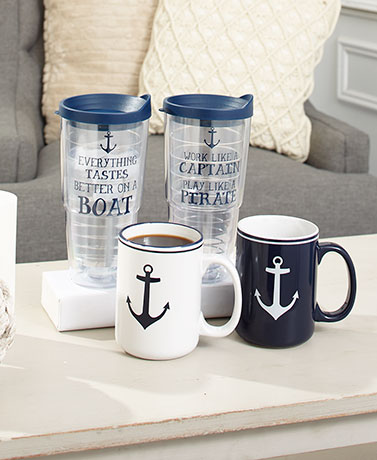 Nautical Drinkware Collection
