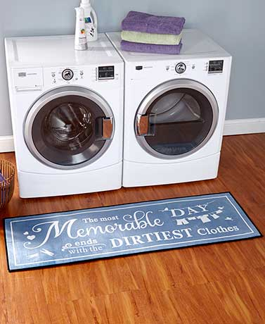 "Laundry 60"" Room Runner"