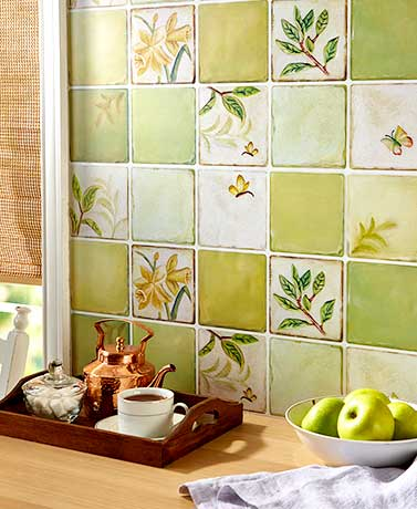 Decorative Wall Coverings - Lillies