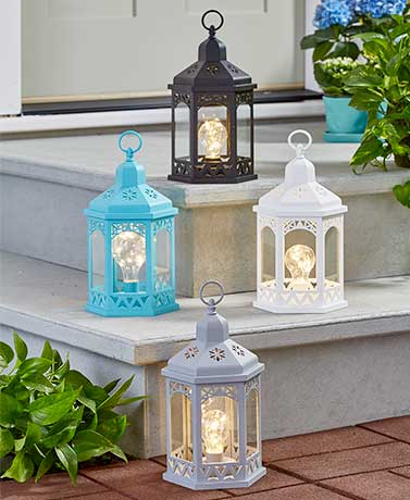 Decorative Lighted Lanterns