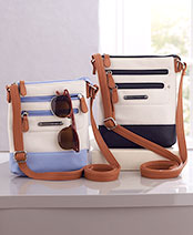 Stone Mountain Leather Crossbody Bags