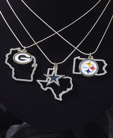 NFL Home State Necklaces