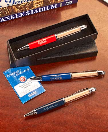 MLB™ Executive Pen with Game-Used Dirt