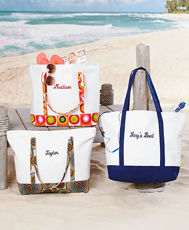 Personalized Canvas Totes