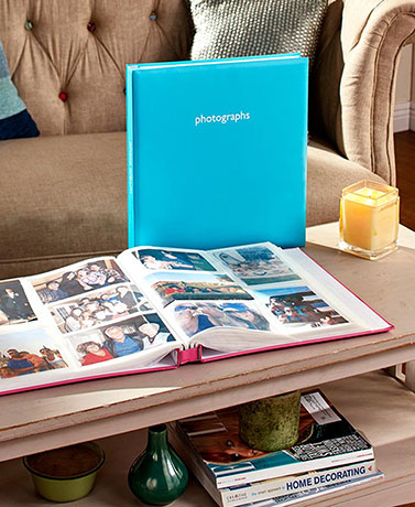 500-Photo Multi-Directional Photo Albums