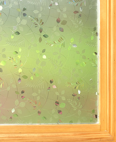 Peel and Stick Privacy Film - Leaves