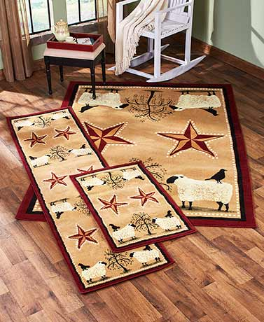 Primitive Rug Collection