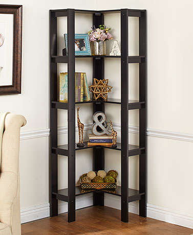 L-Shaped Corner Shelving Units