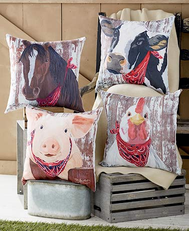 IndoorOutdoor Animal Pillows