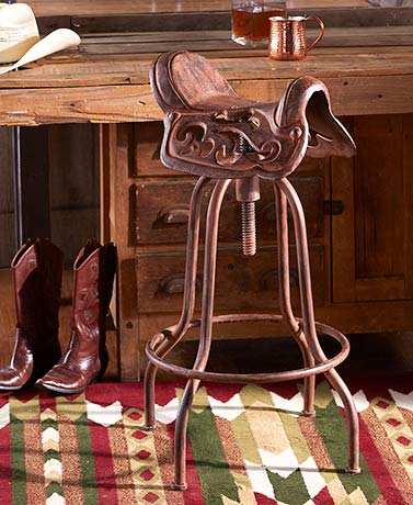 Adjustable Cast Iron Saddle Stool