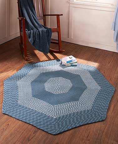 Newport Braided Octagon Rugs