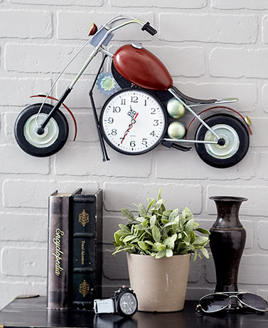 Motorcycle Clock