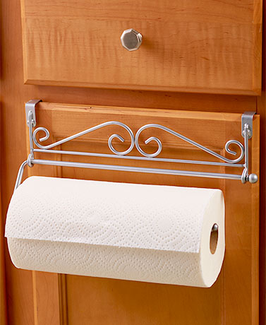 over the cabinet paper towel holder cabinet paper towel holders the lakeside collection 24190
