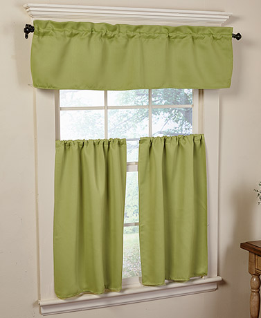 3-Pc. Blackout Kitchen Curtains