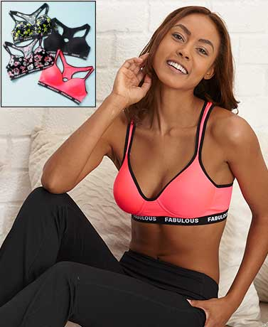 Set of 4 Sports Bras
