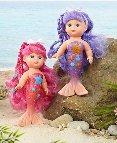 Magical Mermaid Water Dolls