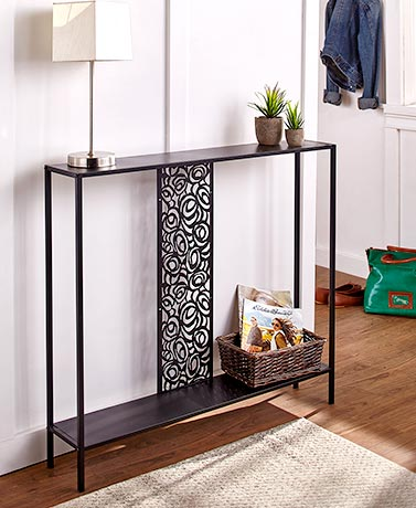 Slim Metal Console Tables