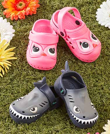 Toddler Shark or Owl Clogs
