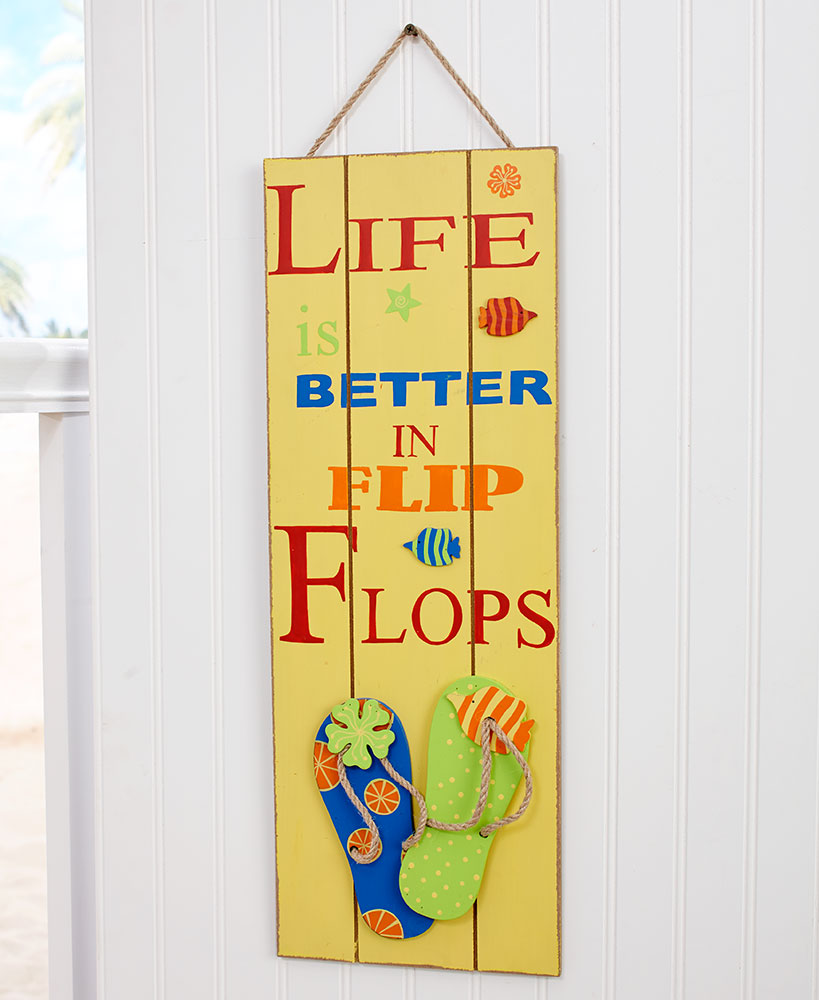 Life is Better in Flip-Flops Collection | The Lakeside Collection
