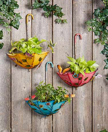 Hanging Umbrella Planters