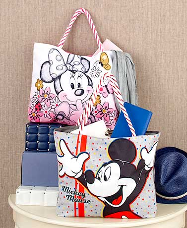 Disney Large Canvas Totes
