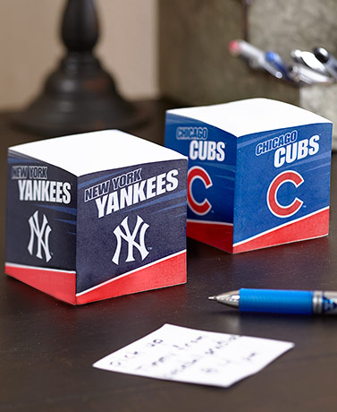 MLB™ Sticky Note Cubes