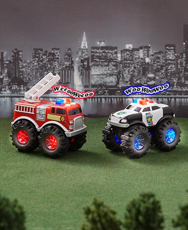 Light-Up Wheels Vehicles