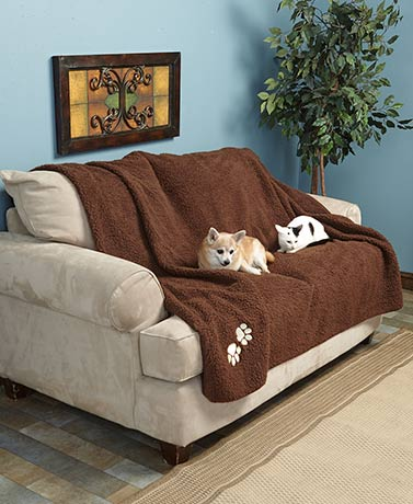 Oversized 6-Ft. Sherpa Pet Throws