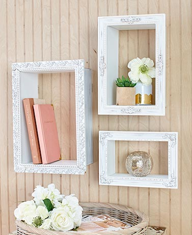 Decorative Photo Frame Shelves