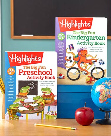 Highlights™ Big Fun Activity Books