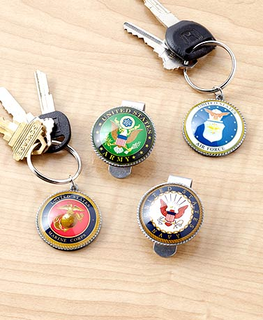 Military Visor Clips or Key Chains