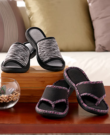 Memory Foam Sport Slippers