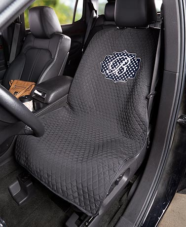 Quilted Monogram Seat Protectors
