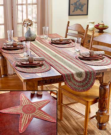 Homestead Braided Table Accents