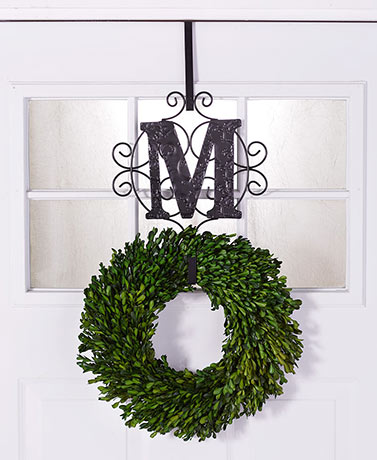 Monogram Wreath Hangers