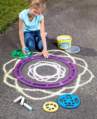Sidewalk Chalk Design Kit or 37-Ct. Chalk