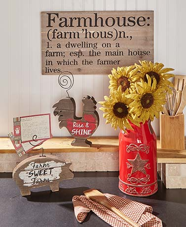 Country Farmhouse Home Decor