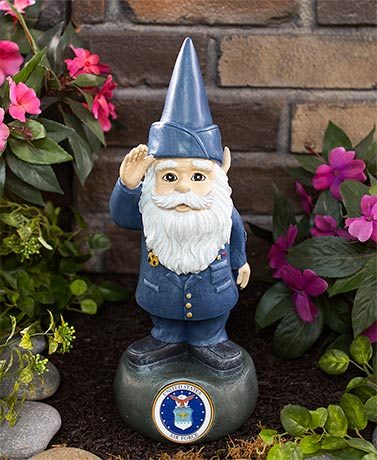 Military Gnome Statues