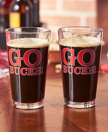 2-Pk. Collegiate Slogan Pints